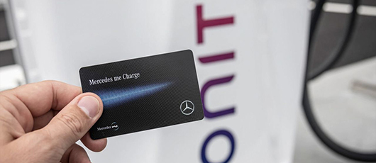 Register now for Mercedes me Charge